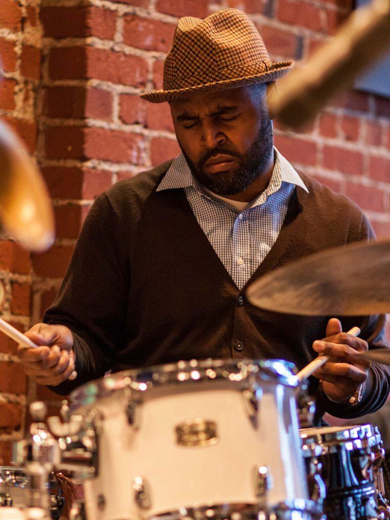 Kendrick Scott; photo by Walter Wagner