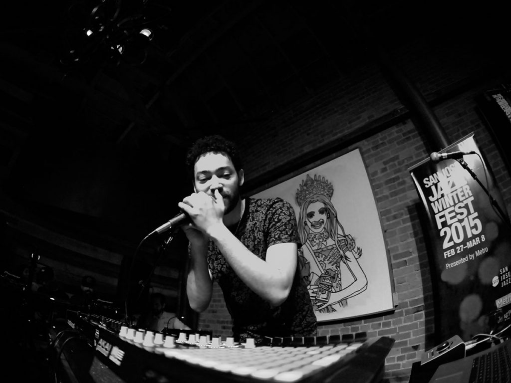 Vocalist/electronic musician Taylor McFerrin