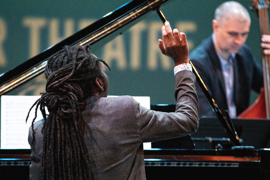 Elio Villafranca blended modern jazz and Afro-Caribbean rhythms in his latest album Cinque featured at this year's fest. Photo by Robert Birnbach