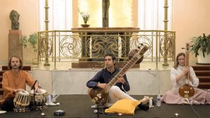Arjun Verma and Florian Schiertz: Raga Miyan ki Malhar on Sitar (Live in Prague)